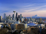 Seattle, Washington Fotografie-Druck von George White Jr.