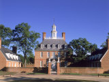 Governor's Palace, Williamsburg, VA Impressão fotográfica por David Ball