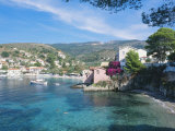 Kefalonia, One of the Small Beaches in the Village of Assos Photographic Print by Ian West