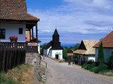 Holloko Village, Unesco Site, Hungary Impressão fotográfica por David Ball