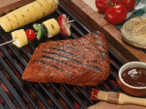 Barbecue Grilled Meal Photographic Print by William Swartz