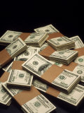 Pile of Money Photographic Print