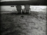 Beach Chairs Photographic Print by Cheryl Clegg