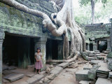 Ta Prohm Temple, Angkor, Cambodia Photographic Print by Angelo Cavalli