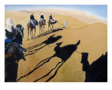 Shadows In The Sahara Giclee Print by Scott Shiffer