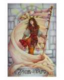 Joan Of Arc Giclee Print by Teri Rosario