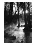 Sunrise on the River - Fog and Light 2 Photographic Print by Paul Huchton