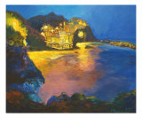 Dreaming Of French Riviera Giclee Print by Solomea P