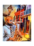 Big Easy Blues Giclee Print by Diane Millsap
