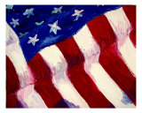 Old Glory Giclee Print by Brittney Peace