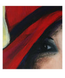 Her Eye Giclee Print by vickie fisher
