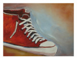 One Red Shoe Giclee Print by Todd Horne