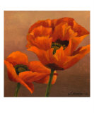 Oriential Poppies 3 Giclee Print by Wendy Kroeker (Erhardt)