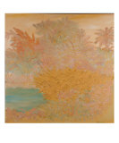 Tropical Trees Abstract Giclée-Druck von Jill Von Rotz