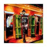 Bourbon Street Bar Giclee Print by Diane Millsap