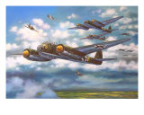 JU 88S Battle Of Britain Giclee Print by jack connelly