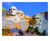 Mount Rushmore Photographic Print by Vicky Brago-Mitchell