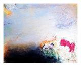 Morning Fog Giclee Print by Carin Rehbinder
