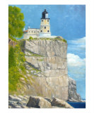 Split Rock Lighthouse Giclee Print by Tenzin Tamding