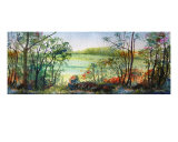 Bocage In Normandie Giclee Print by Christian Simonian