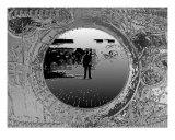 Underground Posing Photographic Print by Simon Zupan