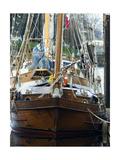 Victorian Sailboat Impressão fotográfica por John Gusky