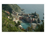 Vernazza Of The Cinque Terre Photographic Print by Angel & Leah Ericksen