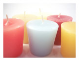 Colorful Candles Photographic Print by Catherine Lall