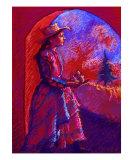 Woman Bearing Pears Giclee Print by Ellen Dreibelbis