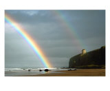 Mussenden Rainbow Photographic Print by Stephen Maxwell