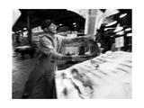 Fish Thrower Photographic Print by John Gusky