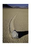 Moving Rocks Number 2 , Death Valley Photographic Print by Steve Gadomski