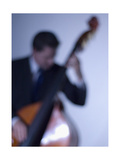 Bassist 2 Photographic Print by John Gusky