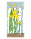 Yellow Iris Giclee Print by Judy Newcomb