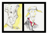 Faces - Bof Giclee Print by Pierre Poulin