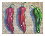 Chantilly Chilis Giclee Print by Susi Lerma