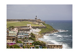 Crashing Waves At El Morro Fort, Old San Juan Photographic Print by George Oze