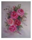 Roses Giclee Print by Malindia Lentz