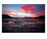 MO-11A Snowy Sunset Photographic Print by Luke Kneale