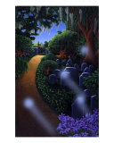 Spirit Garden Giclee Print by linda messier