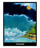 Tsunami Giclee Print by James F. Smith