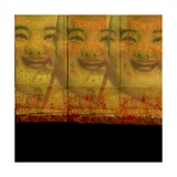 3 Happy Buddhas Photographic Print by Ricki Mountain