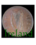 Ireland 1990 20 Pence Photographic Print by Michael F. Mitchell