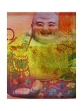 Cherry Blossom Zen Boss Giclée-Druck von Ricki Mountain