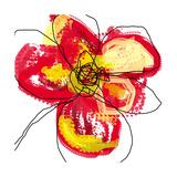 Red Petals Fotografie-Druck von Jan Weiss