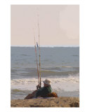 A Patient Fisherman Photographic Print by Susan Lipschutz
