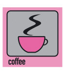 Coffee Pink Photographic Print by Micheline Kanzy