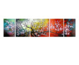 Plum Blossom Giclee Print by James Saenz