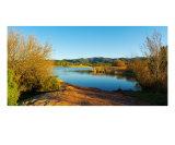 Paysage Panoramique Du Lac Des Escarcets En Hiver Photographic Print by Patrick Morand