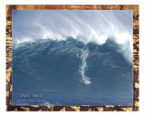 Tony Surfing Jaws 1 Photographic Print by  Himani